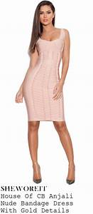 97282c78aff3 sheworeit charlotte crosby 39 s house of cb anjali nude blush pink gold  sleeveless placement