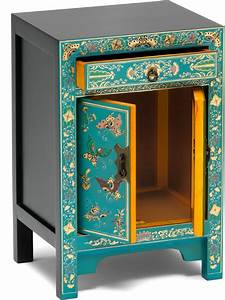 small decorated classic chinese cabinet blue With best brand of paint for kitchen cabinets with oriental candle holders