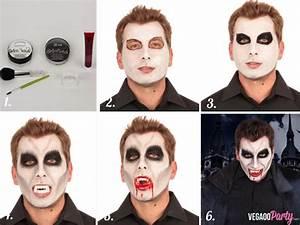 Maquillage Garcon Halloween : comment se transformer en petit vampire pour un jour id es de f tes maquillage d 39 halloween ~ Farleysfitness.com Idées de Décoration