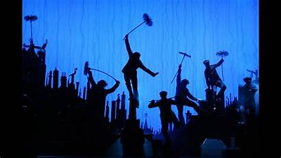 Poppins Mary Broadway Musical Step Audience Dance