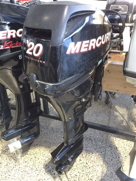 Used Outboard Motors For Sale Ottawa by Mercury 20 Hp Elpt Fourstrokes 2008 Used Outboard For Sale