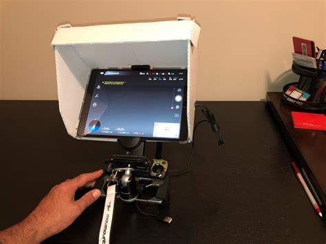 diy ipad pro  hood dji mavic drone forum