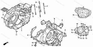 Honda Atv 2000 Oem Parts Diagram For Crankcase