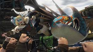 How to Train Your Dragon images Astrid and Stormfly HD ...