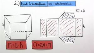 Prisma Berechnen übungen : volumen und oberfl che von prismen online lernen ~ Themetempest.com Abrechnung