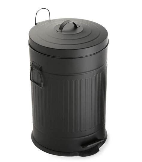 poubelle de cuisine poubelle de cuisine r 201 tro en m 201 tal 30l wadiga com