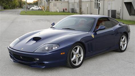The 1999 ferrari 550 maranello v12 has 486 ps / 479 bhp / 357 kw. 1999 Ferrari 550 Maranello   S109   Chicago 2016