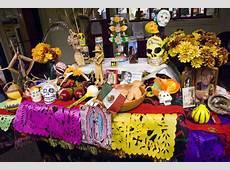 Dia de los Muertos Tradition, Altars & Crafts Station