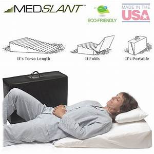 Wedge pillow for acid reflux 32quotx24quotx7quot folding pillow for Bed wedges for sleep apnea