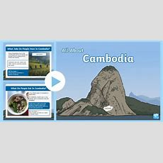 * New * Ks1 All About Cambodia Powerpoint
