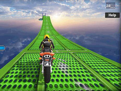 impossible bike stunt  game play   ycom