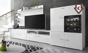 Hänge Tv Schrank : wohnzimmer m bel mit weinfach groupon goods ~ Michelbontemps.com Haus und Dekorationen