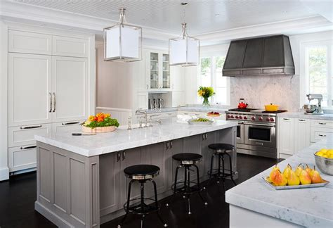 Beadboard Ceilings In Kitchens : Kitchen With Beadboard Tray Ceiling