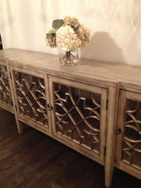 mirrored buffet table  dining room home ideas