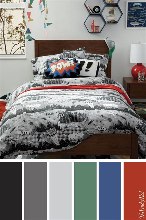 Create A Bedroom by Create A Boys Bedroom With Comic Book Bedding And More