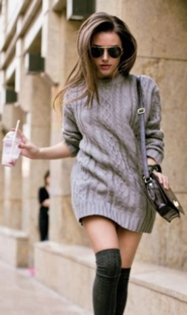 15 Comfy Sweater Dresses For Cold Weather - Styleoholic