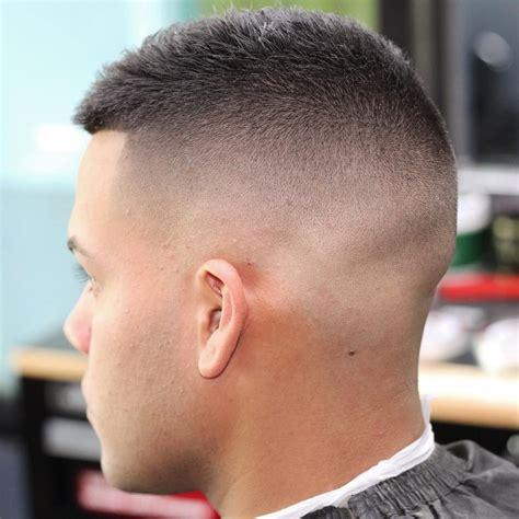 pin   high fade haircuts