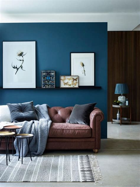 Dark Teal Living Room Paint  Modern Home Design Ideas