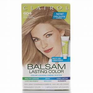 Clairol Balsam Lasting Color 604 Dark Blonde Hair Color