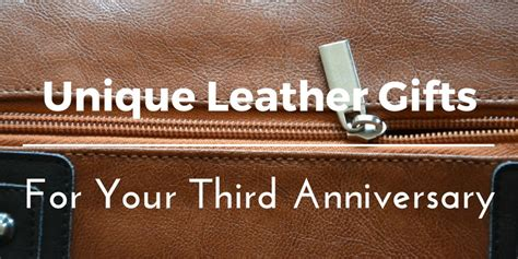 Tas Eiger R Lt 14 Wanders 30 8 creative leather gift ideas for your 3rd wedding