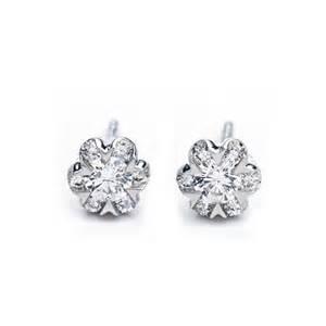 One Carat Diamond Earrings