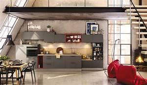 Cuisine Style Industriel Vintage : une cuisine urbaine de style industriel mod le archi ~ Teatrodelosmanantiales.com Idées de Décoration