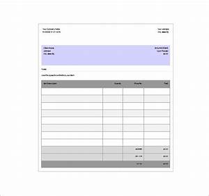 invoice receipt template hardhostinfo With printable invoice receipt template