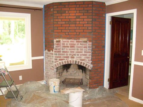 step  step red brick fireplaces brick fireplace