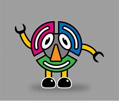 Cartoon Characters Objects Spin Faces Everyday Found