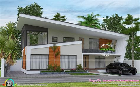 Contact make my house for best 26*50 3d front elevation design along with floor plan design and dimensions. GANDUL: 2732 sq-ft ultra modern contemporary home