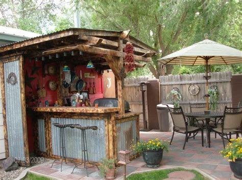 outdoor rustic kitchens  patios google search