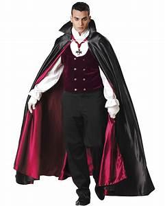 CL55 Vampire Gothic Elite Count Dracula Adult Costume ...