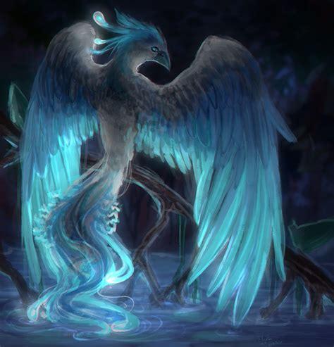 mythical phoenix artwork  creature design gallery