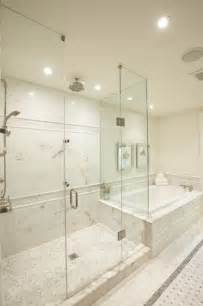 master bathshower designs transitional bathroom meredith heron design