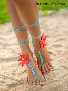 starfish barefoot sandals barefoot sandals and other foot jewelry on
