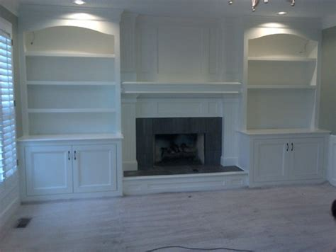 built in bookcases around fireplace what is the cost for custom built in bookshelves around a