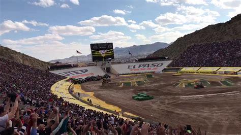 monster truck show el paso el paso texas 2017 monster truck show youtube