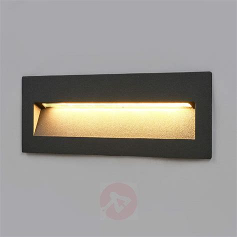 Applique Da Incasso by Acquista Applique Led Loya Grigio Scuro Incasso In
