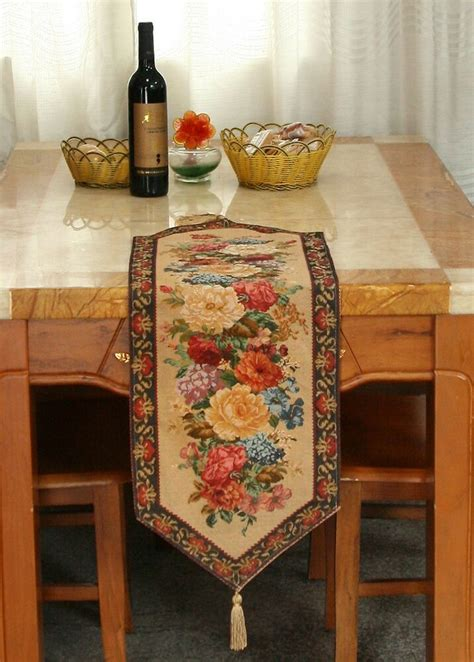 colorful tapestry country rustic floral morning awakening