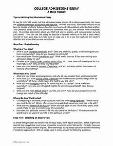 admission college essay examples najmlaemahcom With college application essay
