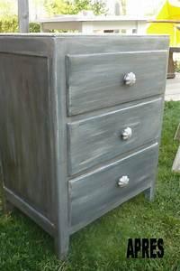 Peinture Bois Effet Vieilli : repeindre meuble effet vieilli atelier retouche paris ~ Preciouscoupons.com Idées de Décoration