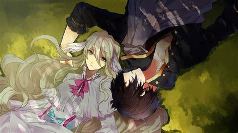 wallpaper illustration anime fairy tail zeref mavis