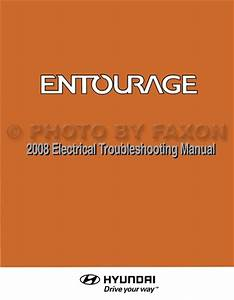 2008 Hyundai Entourage Electrical Troubleshooting Manual