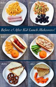 Before and After Kid Lunch Makeovers | Healthy Ideas for Kids
