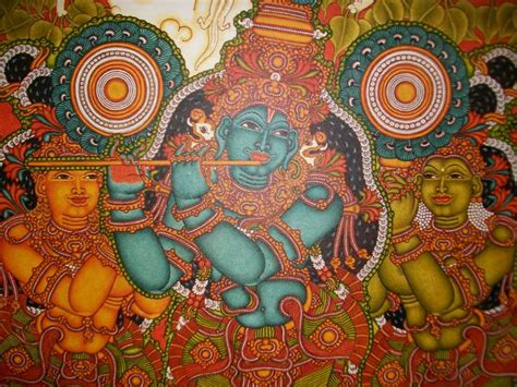 Kerala Mural Artists by Kerala Mural Painting India Kerala Murals
