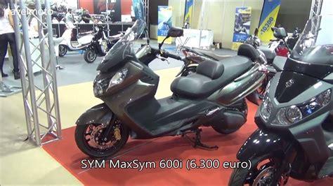 Sym Maxsym 600i by The Sym Maxsym 600i Scooter 2017