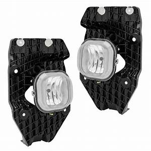 Pair Fog Lights Wiring Harness Kit For 2011