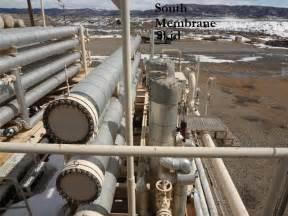 tube gas processing membrane skid