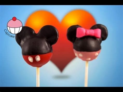 mickey mouse cakepops learn    mickey cake pops