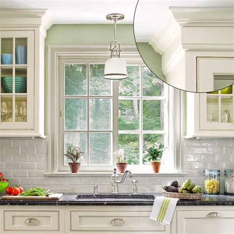 kitchen cabinet trim ideas uncrowded crown style 39 crown molding design ideas this house